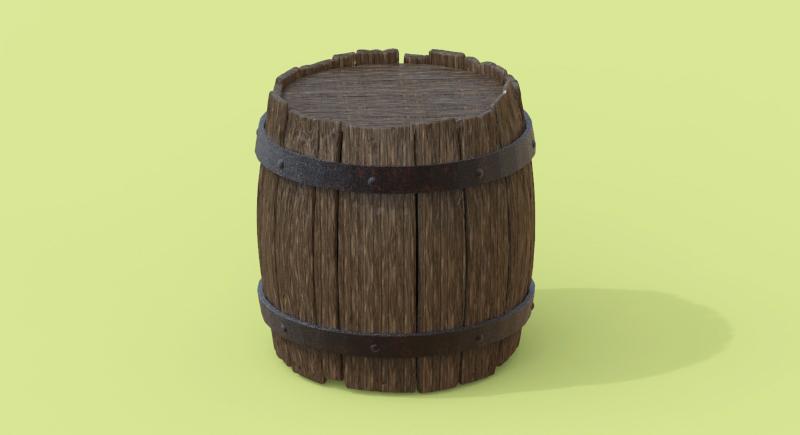 ZBrush-木樽チュートリアルをやってみた記録【メイキング】