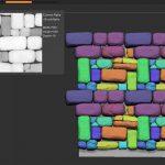 ZBrush-「NanoTile Textures」シームレスなタイリングテクスチャ作成プラグイン