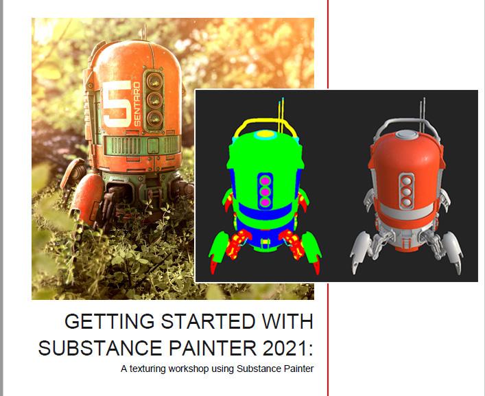 GettingStarted SubstancePainter2021メモ(3)-カラーの作成