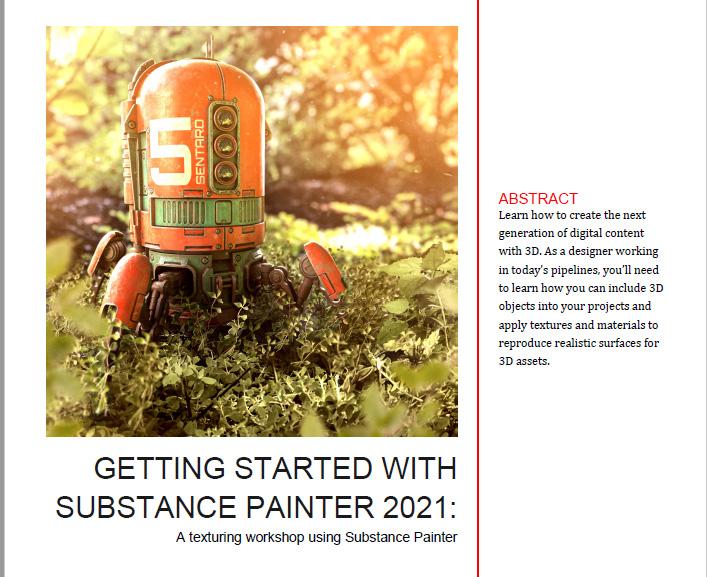 GettingStarted SubstancePainter2021メモ(1)-序章。SPで出来る事