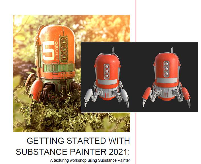 GettingStarted SubstancePainter2021メモ(4)-エッジウェアとテクスチャセットのインスタンス