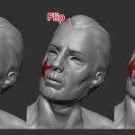 最後のストロークをマスク変換!!Mask Changed Points(変更頂点をマスク)